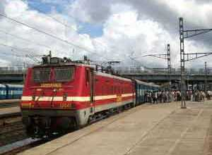 Azad Hind Express in Kharsia