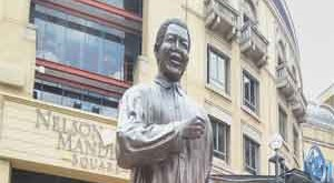 Nelson Mandela South Africa Sanston Mall