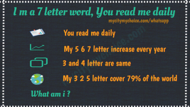 I m a 7 letter word, You read me daily