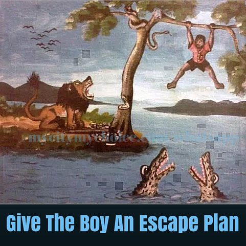 Give The Boy An Escape Plan