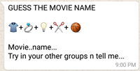 Guess the movie name