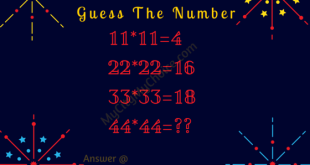Guess the number 44*44=??