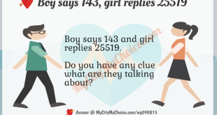 Boy says 143 Girl replies 25519