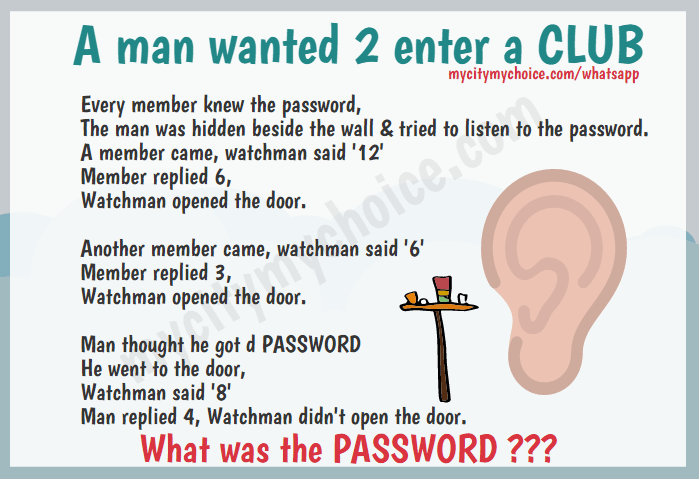 A man wanted 2 enter a CLUB