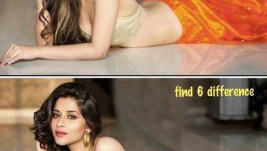 Find 6 differences in these pictures of Madhurima
