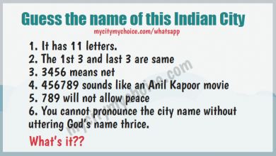 Guess the name of this Indian City