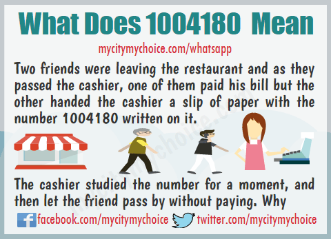 What Does 1004180 Mean