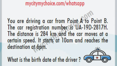 What is the birth date of the driver ? - Whatsapp Puzzle