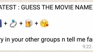 LATEST : GUESS THE MOVIE NAME Puzzle Answer