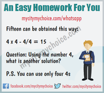 An Easy Homework For You - Whatsapp Puzzle