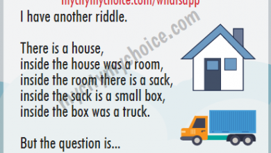 What is in the middle of the House and Truck ? Whatsapp Puzzle answer