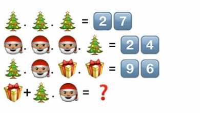 Open your x-mas gift only after solving this - Whatsapp Puzzle
