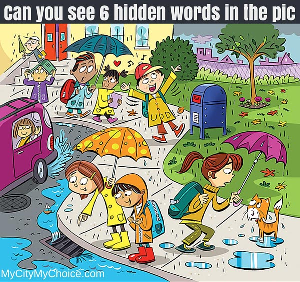 Can you see 6 hidden words in the pic - Whatsapp Puzzle