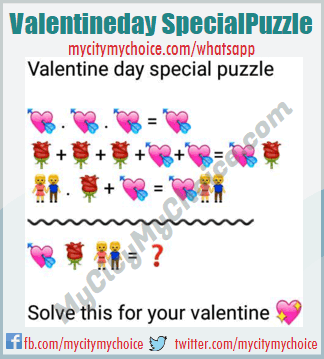 Valentine day special puzzle