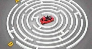 Can you help the car to find out exit point?