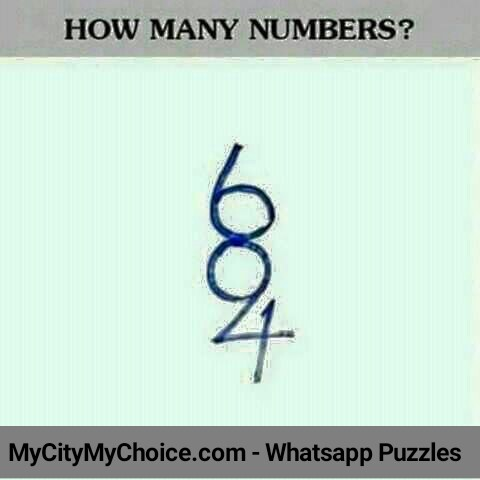 How many numbers do you see?