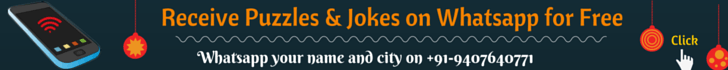 Receive puzzles and jokes on mobile for free