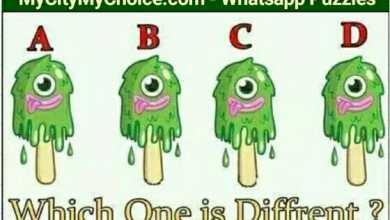 Which one is different? Look at this image of four ice creams. They all appear identical but one of them is different from rest. All you need to do is tell Which one is different