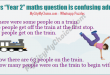 Whatsapp puzzle answer : There were some people on a train. 19 people get off the train at the first stop. 17 people get on the train. Now there are 63 people on the train. How many people were on the train to begin with?