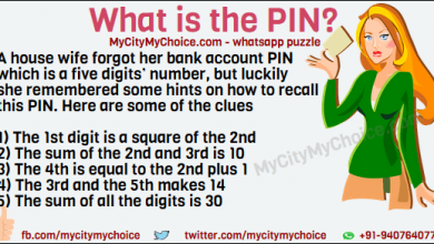 Puzzle : What is the PIN? A house wife forgot her bank account PIN which is a five digits' number, but luckily she remembered some hints on how to recall this PIN. Here are some of the clues 1) The 1st digit is a square of the 2nd 2) The sum of the 2nd and 3rd is 10 3) The 4th is equal to the 2nd plus 1 4) The 3rd and the 5th makes 14 5) The sum of all the digits is 30 What is the PIN?