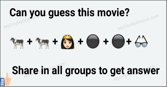 Can you guess this movie?