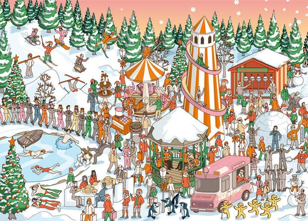 Can You Find The Hidden Santa Claus In This Image answer