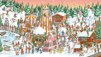 Can You Find The Hidden Santa Claus In This Image?