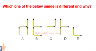 Which one of the below image is different and why?