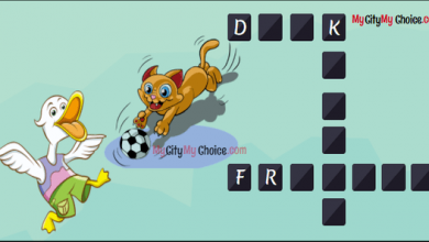 Word puzzles with answer
