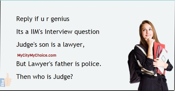 Then who is Judge