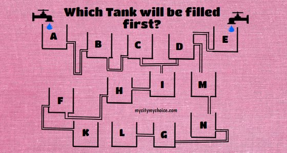 Which Tank will be filled first
