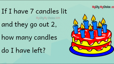 how many candles do I have left?