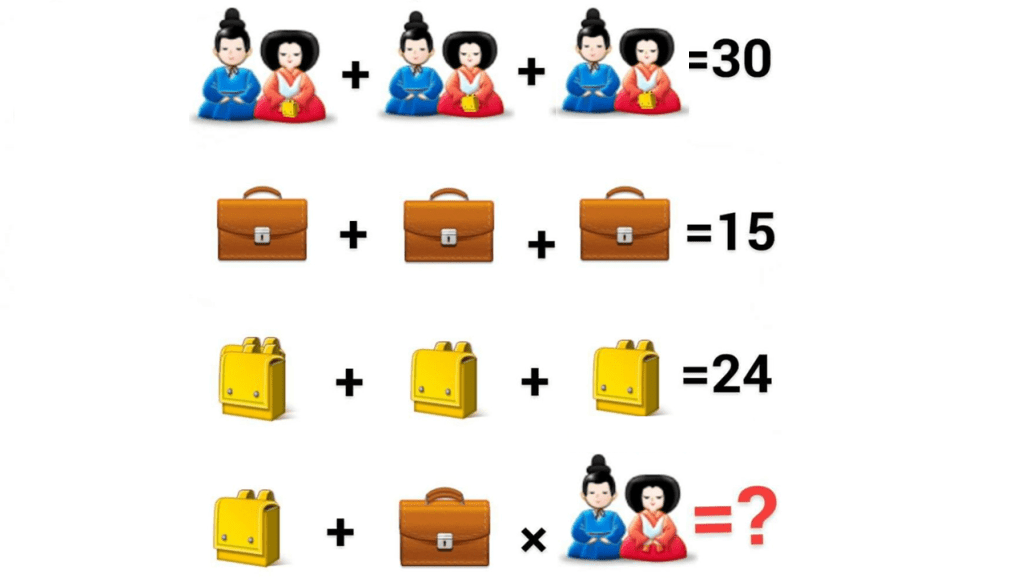 For Genius Chinese couple equation