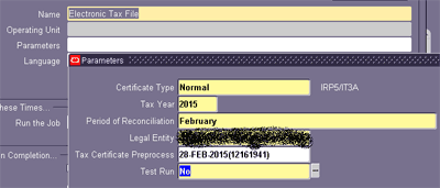 Electronic file for SARS