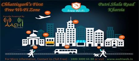 Free Wifi in Kharsia