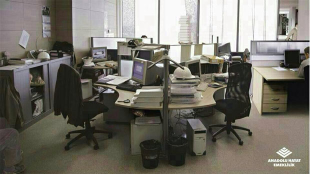 Office me kitne log hai?
