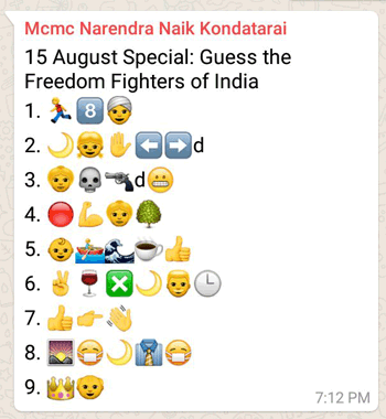 15 August Special: Guess the Freedom Fighters of India