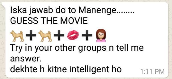 Dog+Dog+Lips+Girl Iska jawad do to Manenge...... GUESS THE MOVIE