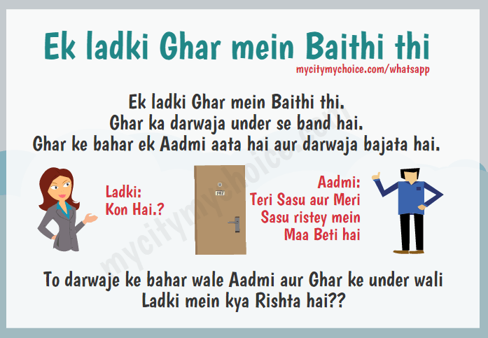 Ek ladki Ghar mein Baithi thi