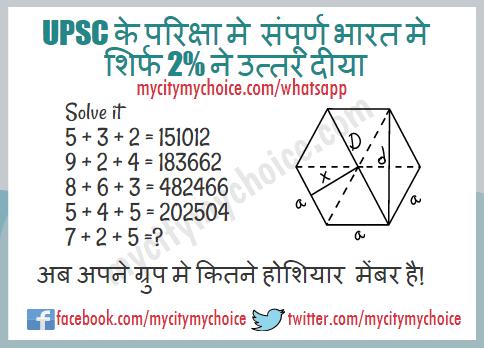 UPSC के परिक्षा मे संपूर्ण भारत मे शिर्फ 2% ने उत्तर दीया