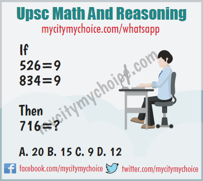 Upsc Math And Reasoning - Whatsapp Puzzle