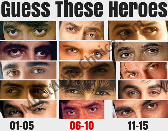 Now Guess These Heroes - Whatsapp Puzzle