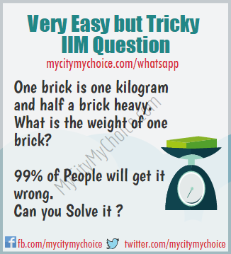 Very Easy but Tricky IIM Question - Whatsapp Puzzle