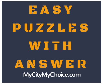 Easy Puzzle With Answers