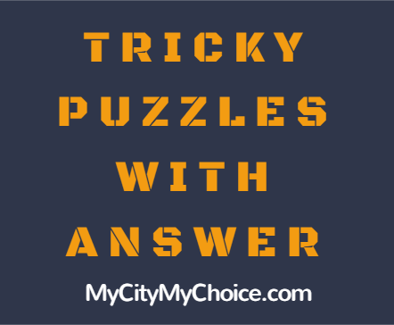 Tricky Puzzle With Answer