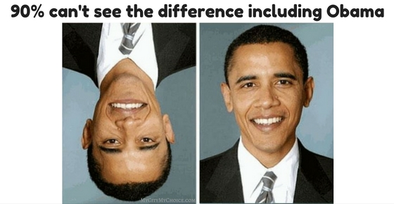 90% can't see the difference including Obama