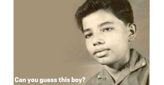Can you guess this boy?