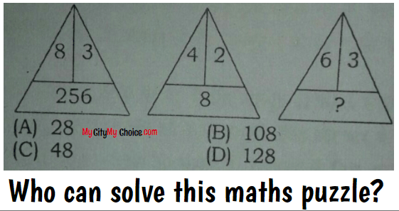 Who can solve this maths puzzle?