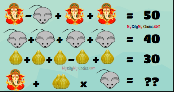 Happy Ganesh Chaturthi Puzzle answer
