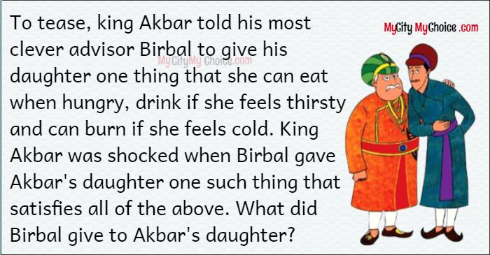 Akbar Birbal puzzle